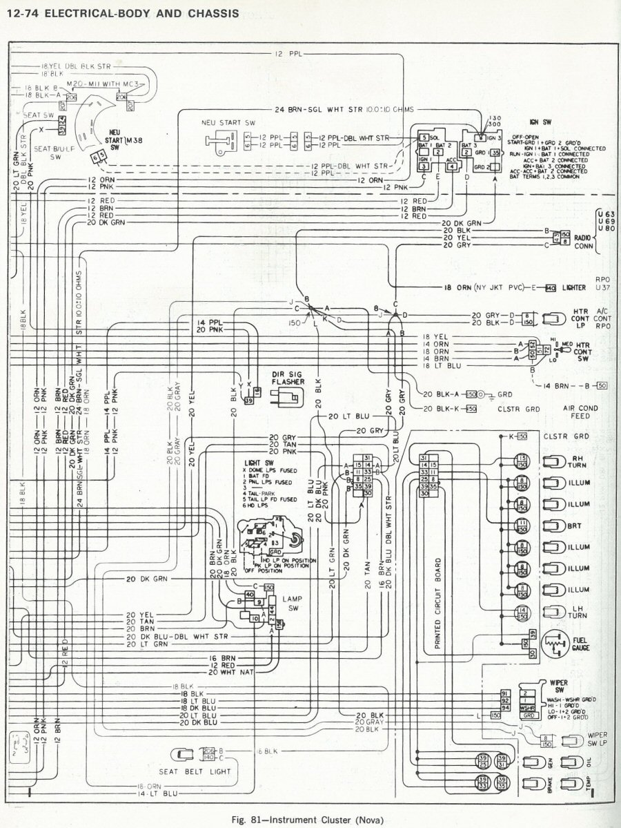 74 Nova Wiring Diagram Wire Data Schema 1966 Alternator 73 Free Engine 70